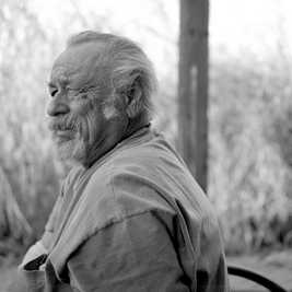 Jim Harrison en 2008. WYATT MAC SPADDEN/AP