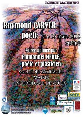 Soirée Raymond Carver