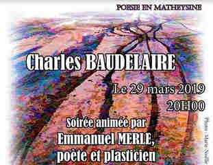 Soirée Charles Baudelaire à Notre Dame de Vaulx