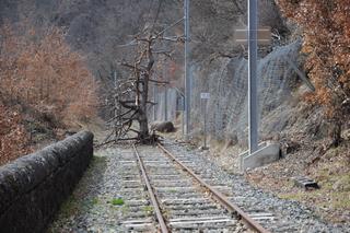 Photo du train de l'extrême aventure !