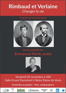 causerie sur Verlaine et Rimbaud